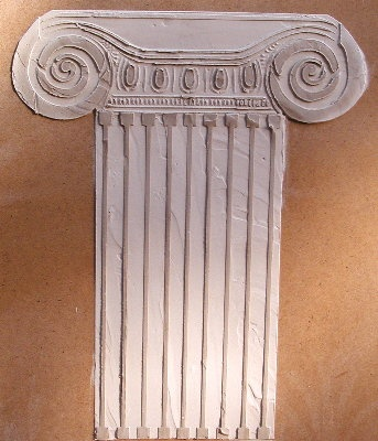 Raised Plaster Architectural Stencils
