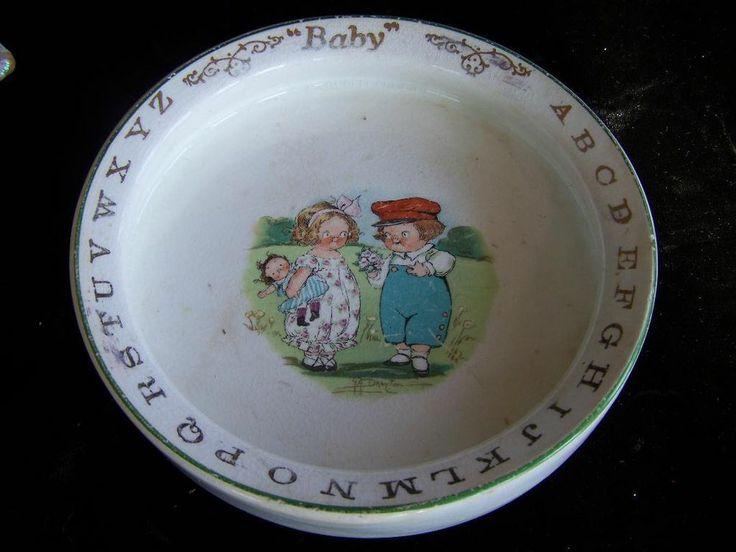 Vintage Campbell Soup Kids Baby ABC by Buffalo Pottery ...