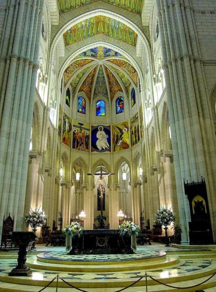 Cathedral Of Santa Maria De La Almudena Madrid Spain Madrid Travel Best Hotels In Madrid Madrid España