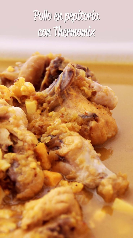 Cocina para novatos en tiempos de crisis pollo en pepitoria thermomix thermomix pinterest - Cocina para novatos ...