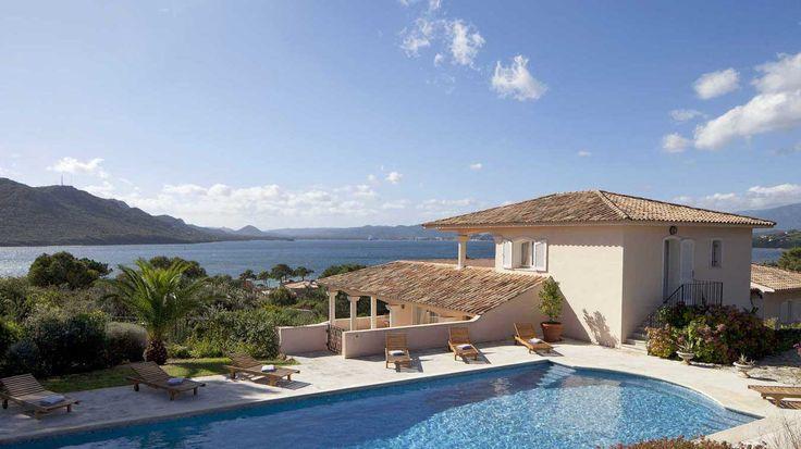 32 best louer une villa de luxe en corse du sud images on pinterest. Black Bedroom Furniture Sets. Home Design Ideas