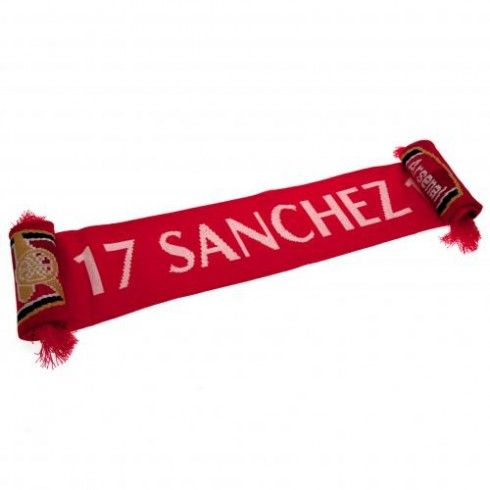 Arsenal F.C. Scarf Sanchez x 10