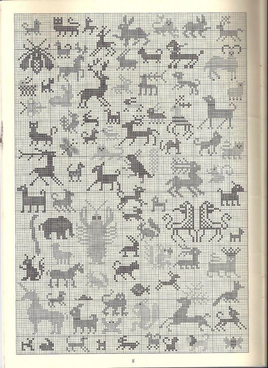 Knitting Pattern With Animals Motifs On : 56 best Plastic Canvas images on Pinterest Crossstitch, Plastic canvas craf...