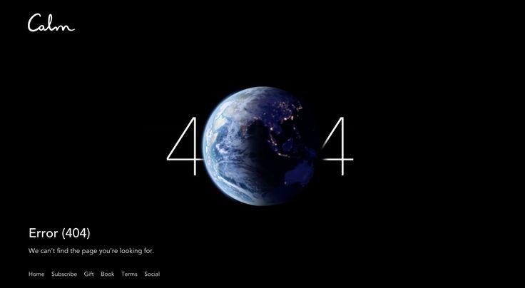 Calm - calm.com/404