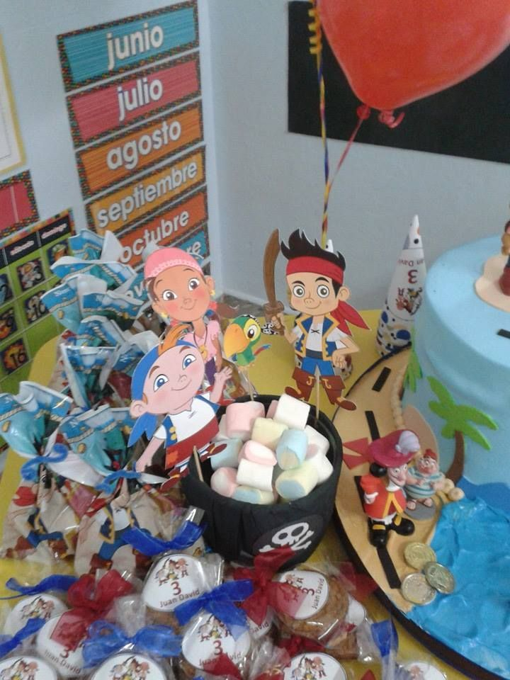 Ideas para hacer cumplea os de jake y los piratas de nunca - Preparar fiesta cumpleanos ...