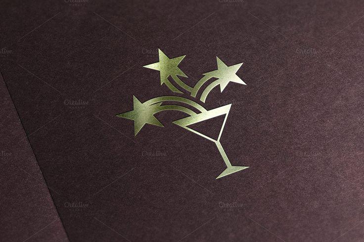 Retro Bar Logo Template by Minhocossauro Emporium on @creativemarket