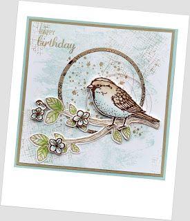 """Stampin & More: Creatieve harten bloghop """"Lentekriebels"""", Best Birds"""