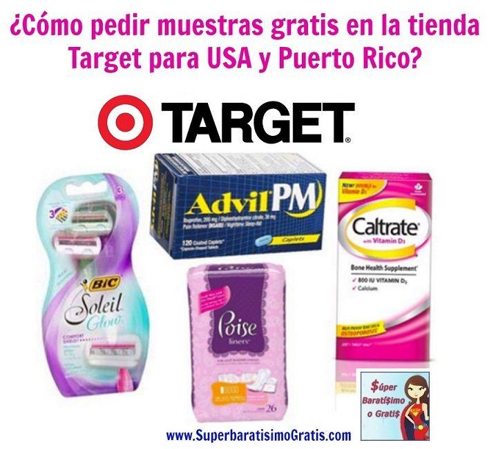 ¿Cómo pedir muestras gratis en la tienda Target para USA y Puerto Rico? #target #freesample #muestragratis #Cupones #USA #PuertoRico