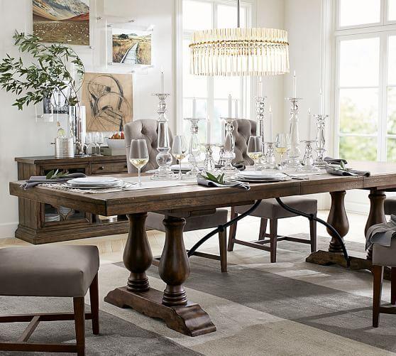 Artur Extending Dining Table In 2019: Lorraine Extending Dining Table, Hewn Oak In 2019