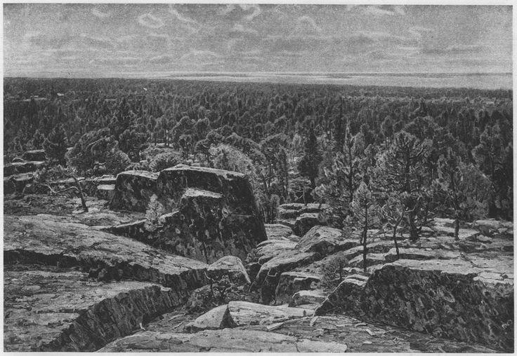 Victor Westerholm Aland - Önningebyn taiteilijasiirtokunta, Näköala Ahvenanmaalta