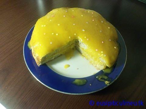Tort de banane cu mango (fara zahar, fara lactate) – eusipiticulmeu