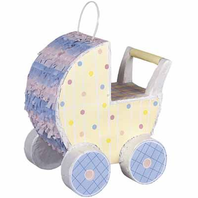 Baby Carriage Decor Pinata