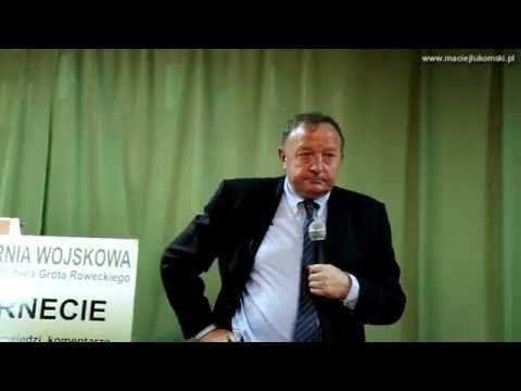 Stanisław Michalkiewicz ws. państwo islamskie (ISIS) a Izrael (18.11.2015r.) - YouTube