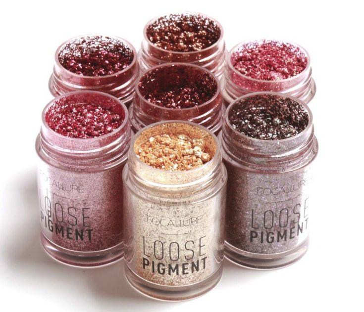 Adrien's Shop - Focallure brand glitter waterproof eyeshadow powder