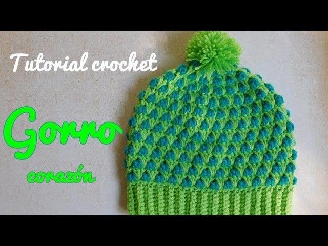 Aprende a tejer un gorro a crochet , en el tutorial se explica como variar la cantidad de puntos para hacerlo en varios talles. --------------------------------------------------------------------------- Puedes ver más tejidos tutoriales visitando mi Cana. Crochet, Crochê, Gorro, Tejer,