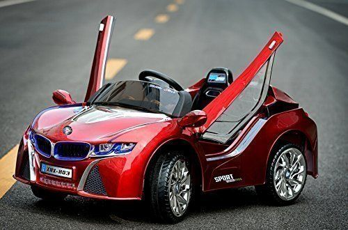 2016 New BMW I8 Style Ride On Car For Children 25 Red  battery