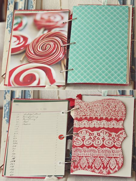 December daily. This vintage book is what I've had in mind for our December Daily. Great ideas and wisdom in this post!