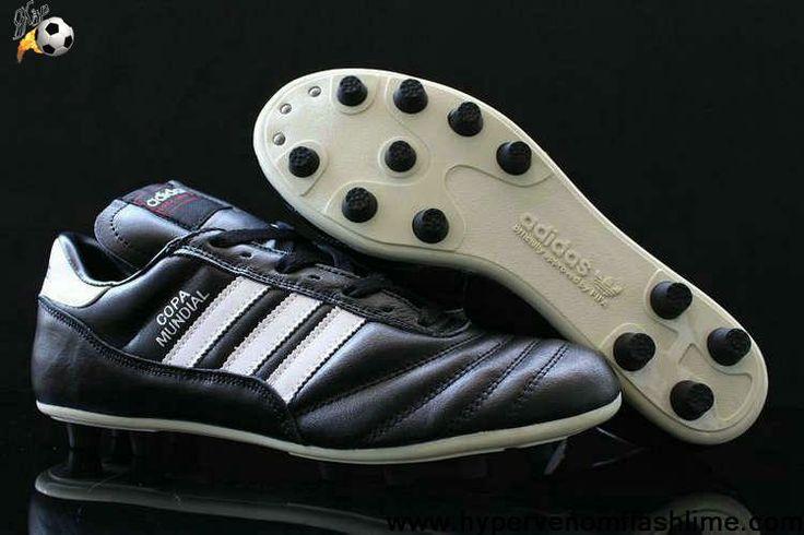 Buy 2013 New Adidas Copa Mundial FG Black-Running White-Black Soccer Boots For Sale