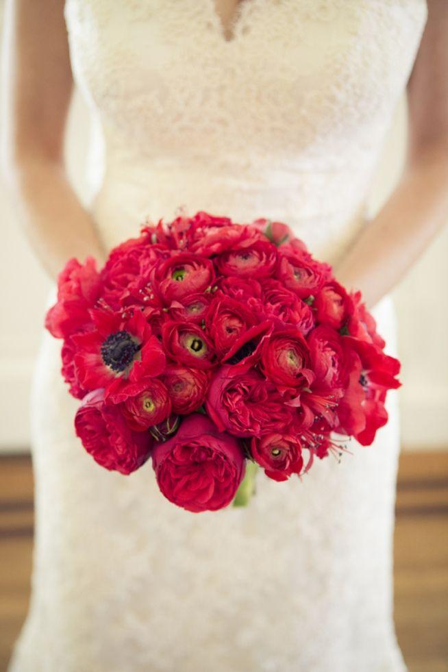 Charleston, SC. Wedding design by Southern Protocol. #wedding #flowers #red #poppy