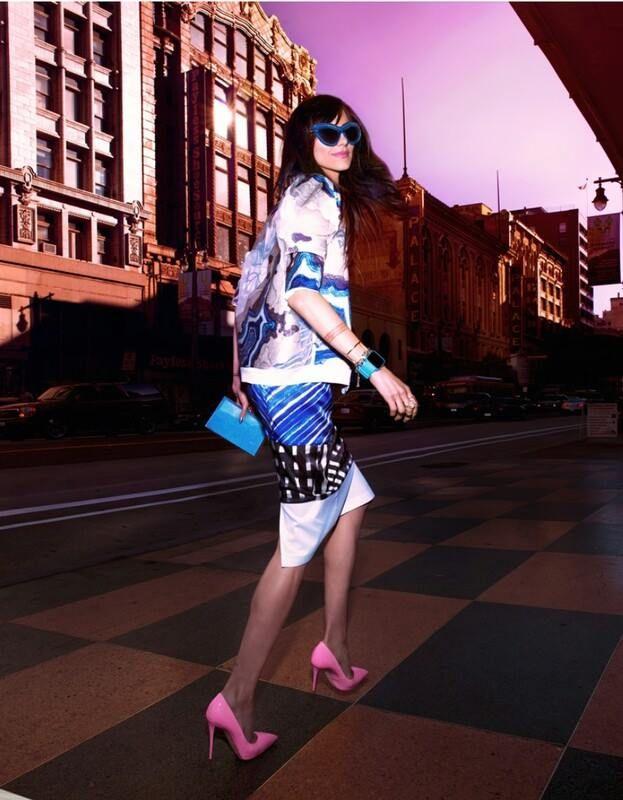 Dora Abodi featuring on Harpers Bazaar China