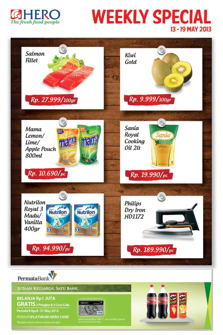 Weekly special promo (13 - 19 May 2013)