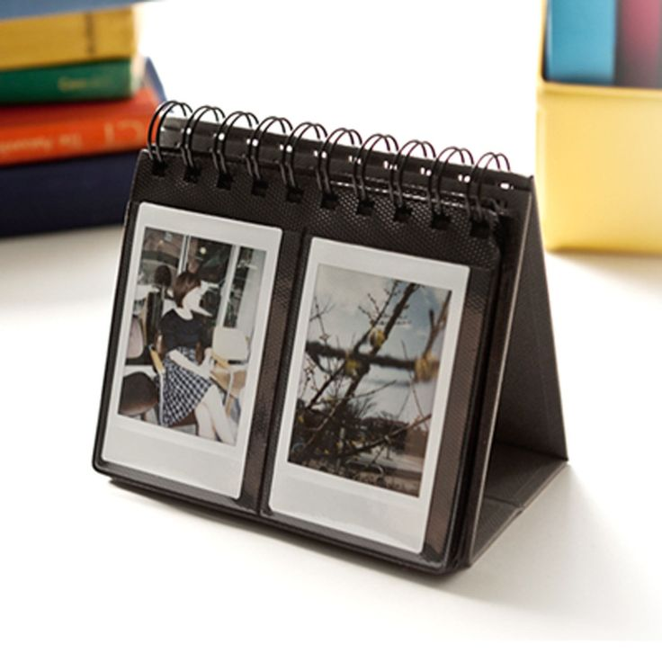 details about new desk standing polaroid photo album fuji. Black Bedroom Furniture Sets. Home Design Ideas