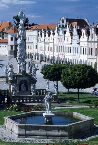 Telc, Czech Republic - oh my gosh I've been here but the bus driver never told us the name!!!!