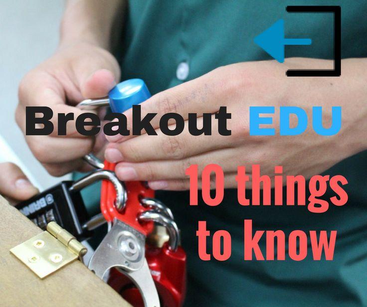 "Breakout EDU is ""a platform for immersive learning games""   Breakout EDU is highly engaging for all ages In Breakout EDU, participants work together to find and solve clues around the room to open each of the locks.  As soon as students see the locked box, they are immediately driven by the challenge to get it …"