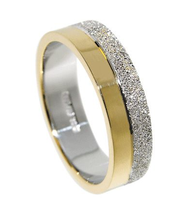 women's two tone gold and silver wedding rings on fingers - Google Search