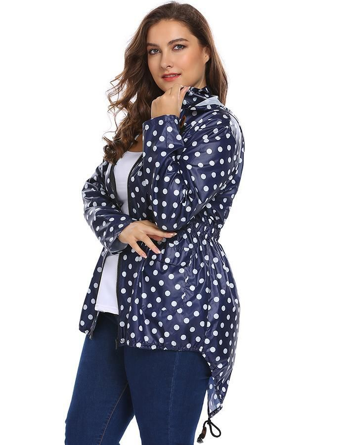 d2697c5ebb6 IN VOLAND Women Hooded Hoodie Jacket Plus Size XL-5XL Spring Autumn Long  Sleeve