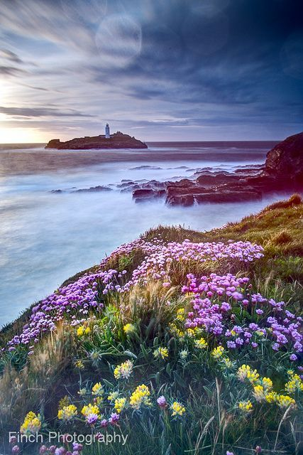 Godrevy Lighthouse, Cornwall...