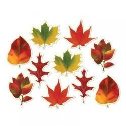 Mini Autumn Leaf Cutouts