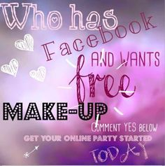 Do you use Facebook, do you want FREEBIES? Have a virtual party invite all your friends and family. Check out Party on my website www.youniqueproducts.com/clarecush
