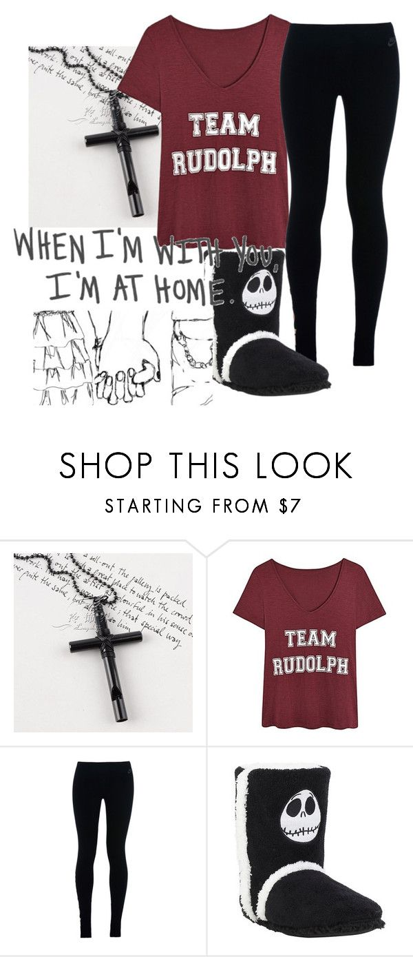 """""""Nighty Night!"""" by elanor-weary ❤ liked on Polyvore featuring Trend Cool and NIKE"""
