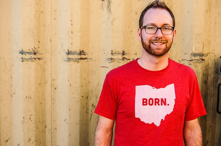 Born Ohio State T-Shirt (Vintage Look and Feel). $26.00, via Etsy.