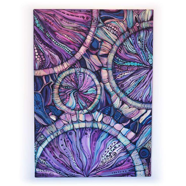 Muza Meduza | Akryl na płótnie | 100 x 70 x 2 cm