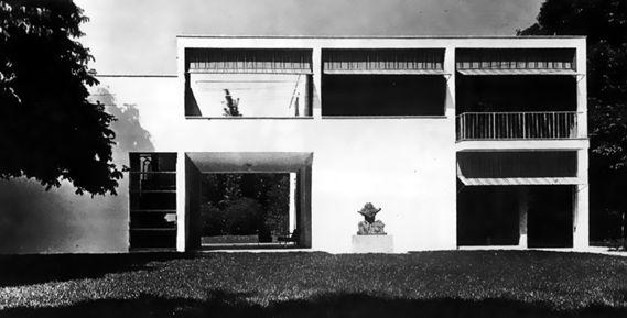 Casa di vacanze sul lago per lartista (project for V Milano Triennale) Giuseppe Terragni et al., 1933