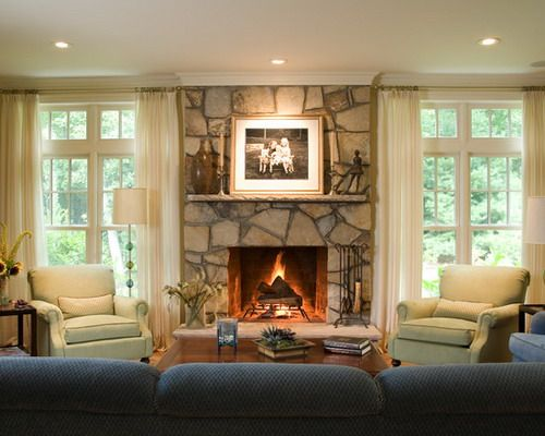 Interesting living room stone fireplace style how to decorate a living room with fireplace ideas