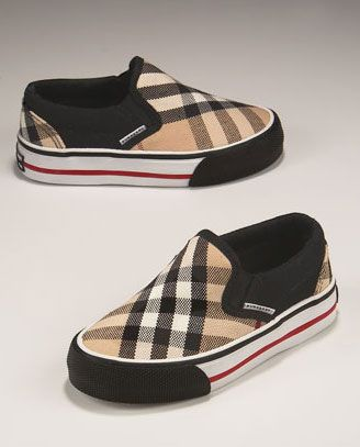 Burberry Slip Ons! Oh my boys r so getting these