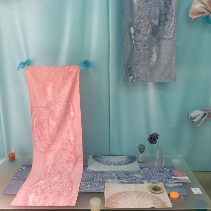 Project 'Fungy!' van Roos Soetekouw, alle producten zijn gemaakt in het TextielLab | TextielMuseum. #vanTilburgnaarMilaan