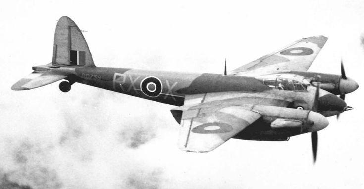 de Havilland D.H.98   Mosquito F.Mk.II  British fighter WW II