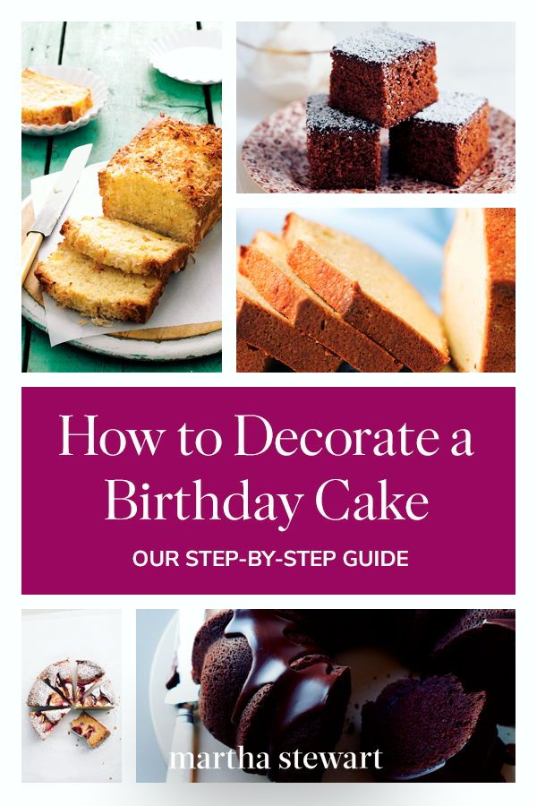 Recipes By Martha Stewart Living Learn How To Decorate This Sweet Birthday Cake From Start Finish Birthdaycake