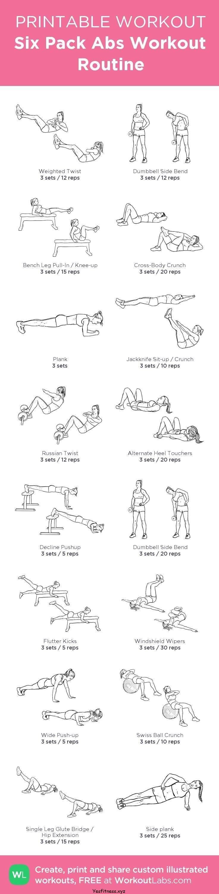 Absack für den Bauchmuskeltraining: @WorkoutLabs #worko