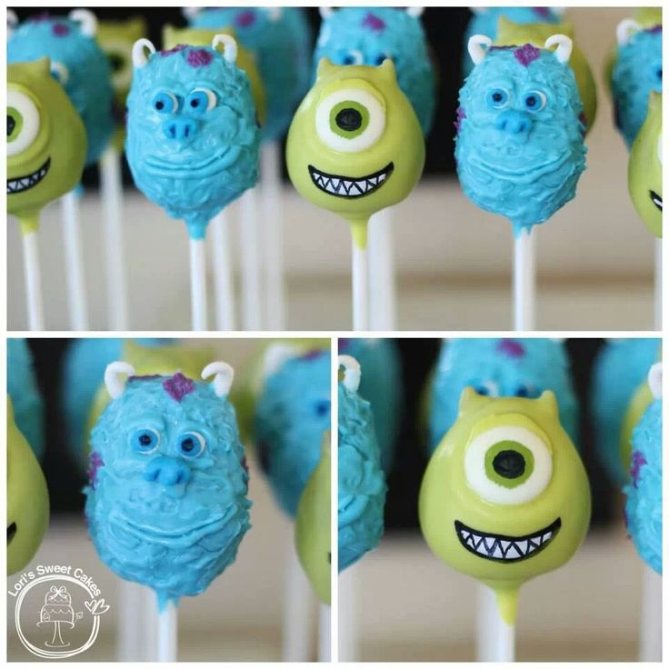 Monsters Popcakes