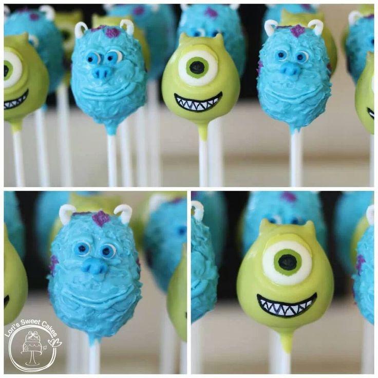 Monsters Popcakes