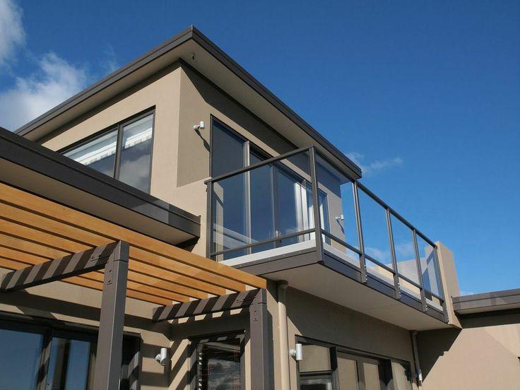 David Reid Homes 2011 Bronze Award Winning Executive Home | Exterior Shiplap Weatherboards + Plaster Render
