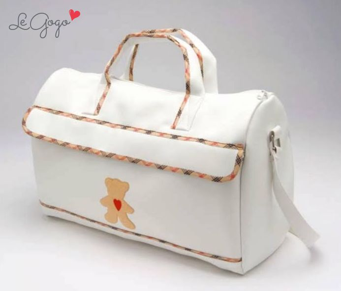A mommy's best friend! Larbe baby bag with cute design for stylish mothers. SHOP NOW on www.legogo.ro