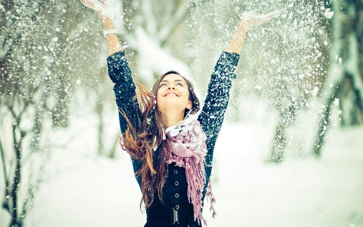 snow photoshoot ideas