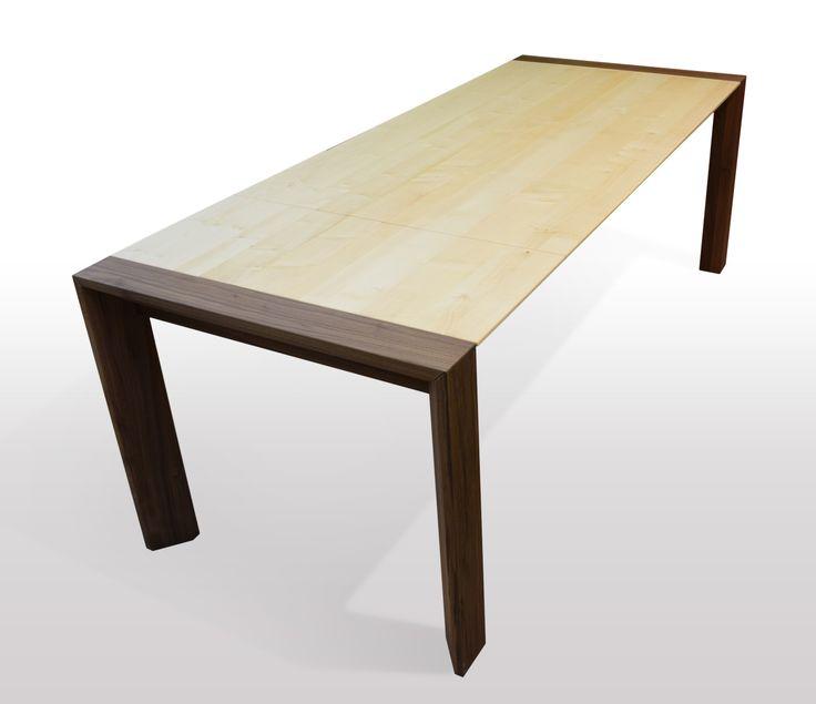 Ausziehbarer Esstisch, Nussbaum, Holz, Kaufen