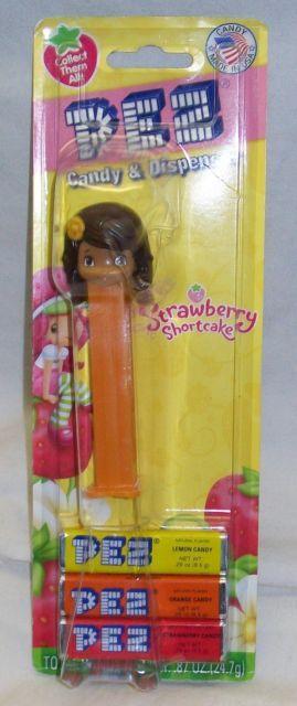 Pez Candy & Dispenser Strawberry Shortcake - Orange Blossom - New On Card   eBay
